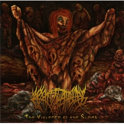 "CREPITATION - ""The Violence of the Sloms"" CD"