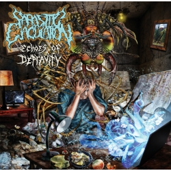 "PARASITIC EJACULATION - ""Echoes Of Depravity"" CD"